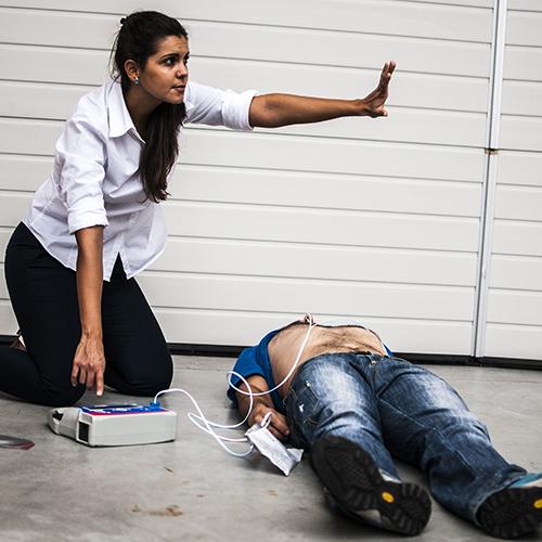 scarica defibrillatore